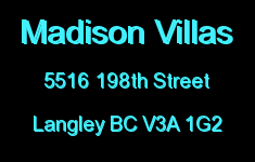 Madison Villas 5516 198TH V3A 1G2
