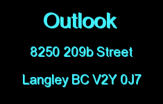 Outlook 8250 209B V2Y 0J7