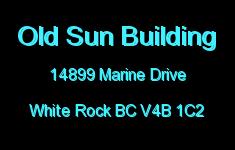 Old Sun Building 14899 MARINE V4B 1C2