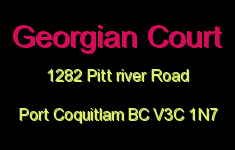 Georgian Court 1282 PITT RIVER V3C 1N7