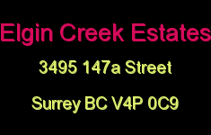 Elgin Creek Estates 3495 147A V4P 0C9
