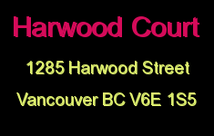 Harwood Court 1285 HARWOOD V6E 1S5