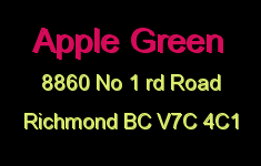 Apple Green 8860 NO 1 RD V7C 4C1
