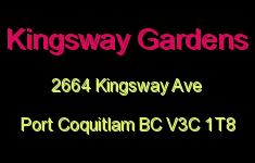 Kingsway Gardens 2664 KINGSWAY V3C 1T8