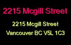 2215 Mcgill Street 2215 MCGILL V5L 1C3