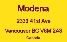 Modena 2333 41ST V6M 2A3