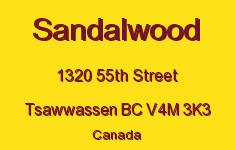 Sandalwood 1320 55TH V4M 3K3
