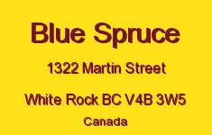 Blue Spruce 1322 MARTIN V4B 3W5