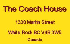 The Coach House 1330 MARTIN V4B 3W5