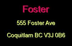 Foster 555 FOSTER V3J 3W2