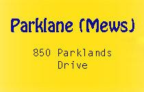 Parklane (mews) 850 Parklands V9A 7L9