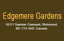 Edgemere Gardens 10111 SWINTON V7A 3S9