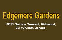 Edgemere Gardens 10031 SWINTON V7A 3S9