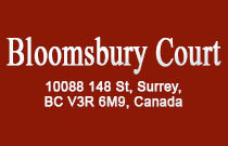 Bloomsbury Court 10088 148TH V3R 3M9