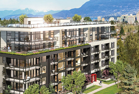 508 West 28th Avenue, Vancouver, BC Rendering!