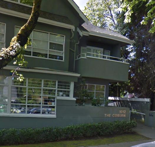 1012 Balfour Vancouver BC Exterior Front!