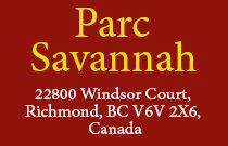 Parc Savannah 22800 WINDSOR V6V 2X6