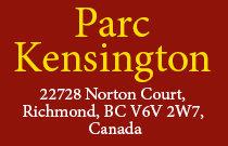 Parc Kensington 22728 NORTON V6V 2W7