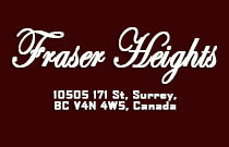 Fraser Heights 10505 171ST V4N 4Y3