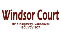 Windsor Court 1015 KINGSWAY V5V 3C7
