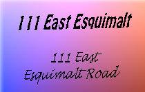 111 East Esquimalt 111 Esquimalt 58-61