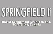 Springfield II 10840 SPRINGMONT V7E 3S5