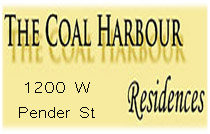 The Coal Harbour Residences 1200 Pender V6E 2S9