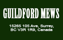 Guildford Mews 15265 105TH V3R 1S1
