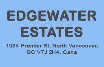 Edgewater Estates 1034 PREMIER V7J 2H2