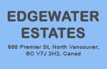 Edgewater Estates 868 PREMIER V7J 2G8
