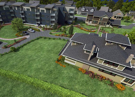 3912 Carey Road, Victoria, BC V8Z 4E3, Canada Bird's Eye Rendering!
