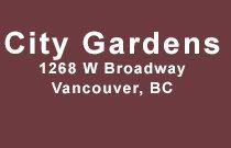 City Gardens 1268 BROADWAY V6H 1G6