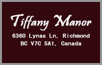 Tiffany Manor 6360 LYNAS V7C 5C9