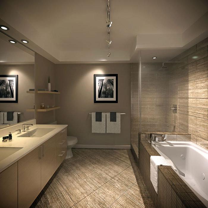 200 Douglas Street, Victoria, BC V8V, Canada Bathroom Rendering!