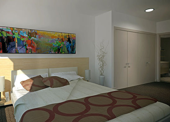 200 Douglas Street, Victoria, BC V8V, Canada Bedroom Rendering!