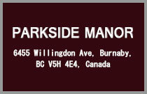 Parkside Manor 6455 WILLINGDON V5H 4E4
