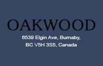 Oakwood 6539 ELGIN V5H 4W7