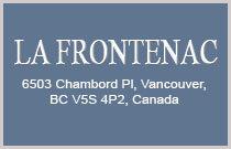 La Frontenac 6503 CHAMBORD V5S 4P2