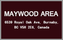 Maywood Area 6539 ROYAL OAK V5H 3P3