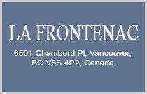 La Frontenac 6501 CHAMBORD V5S 4P2