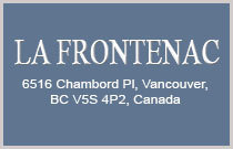 La Frontenac 6516 CHAMBORD V5S 4P2