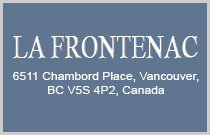 La Frontenac 6511 CHAMBORD V5S 4P2
