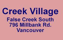 Creek Village 796 Millbank V5Z 3Z3