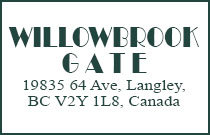 Willowbrook Gate 19835 64TH V2Y 1L8