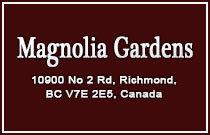 Magnolia Gardens 10900 NO 2 V7E 2E3