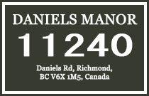 Daniels Manor 11240 DANIELS V6X 1M6