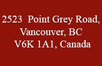 2523 Point Grey 2523 Point Grey V6K 1A1
