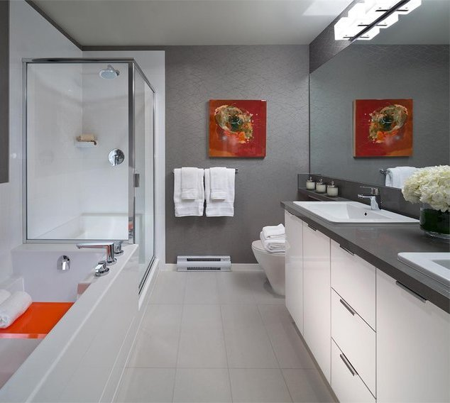 3107 Windsor Gate, Coquitlam, BC V3B 0L1, Canada Bathroom!
