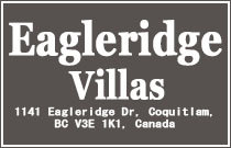 Eagleridge Villas 1141 EAGLERIDGE V3E 1K1