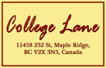 College Lane 11458 232ND V2X 3N5